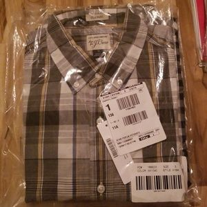 Graphite Cobalt J.Crew Men's Button Up